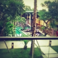 Photo taken at Centra Taum Resort Seminyak by Jeffrey I. on 11/23/2012