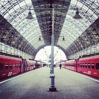 Photo taken at Kievsky Rail Terminal by Alex R. on 10/12/2012