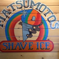 Photo taken at Matsumoto Shave Ice by RC on 9/26/2015