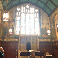 Photo taken at Christ Church Bay Ridge by Dan B. on 3/16/2014