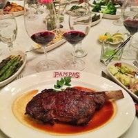 Photo taken at Pampas Argentine Steakhouse by Julius Droolius on 3/31/2016