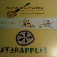 Photo taken at Star Apples Restaurant by Rocky C. on 11/18/2012