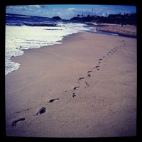 Photo taken at Aliso Beach by Lacy P. on 3/8/2013