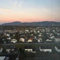 Photo taken at Four Points by Sheraton Panoramahaus Dornbirn by Eric P. on 12/25/2015