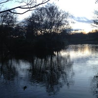 Photo taken at Sefton Park by Dannie E. on 1/4/2013