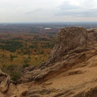 Photo taken at Crowders Mountain State Park by Heather U. on 11/4/2012
