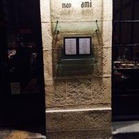 Photo taken at Mon Vieil Ami by Giuliano F. on 11/9/2014