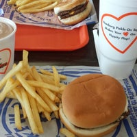 Photo taken at Kewpee Hamburgers by Julie W. on 7/13/2014