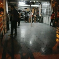 Photo taken at Halte TransJakarta Bunderan Senayan by Wage S. on 12/11/2012