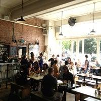 Photo taken at Oddfellows Cafe & Bar by David G. on 8/30/2013