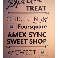 Photo taken at Amex Sync Sweet Shop by Mona H. on 10/16/2012