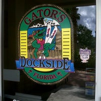 Photo taken at Gator's Dockside by Bill H. on 9/30/2012