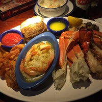 Photo taken at Red Lobster by Christian S. on 8/12/2015