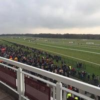 Photo taken at Haydock Park Racecourse by Nigel O. on 2/14/2015