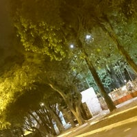 Photo taken at Praça da Bandeira by Maurício R. on 9/13/2016