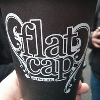 Photo taken at Flat Cap Coffee Co. by Marcus H. on 4/27/2013