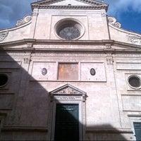 Photo taken at Basilica di Sant'Agostino in Campo Marzio by Byren I. on 10/17/2012