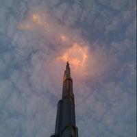 Photo taken at Burj Khalifa by Uluc A. on 5/2/2013