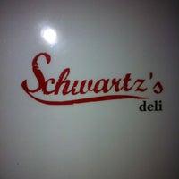 Photo taken at Schwartz's Deli by Annie L. on 5/1/2013