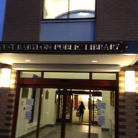 Photo taken at West Babylon Public Library by Vicky C. on 10/25/2012