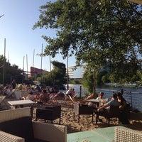 Photo taken at Sage Restaurant & Beach by Maija M. on 7/23/2013