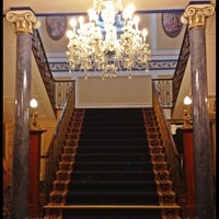 Photo taken at Shrigley Hall Hotel by Adam C. on 11/5/2012