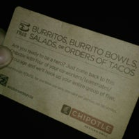 Photo taken at Chipotle Mexican Grill by manuel c. on 11/20/2012