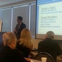 Photo taken at Hampton Roads Realtors Association by Kimberly P. on 4/10/2014
