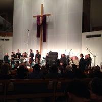 Photo taken at First Presbyterian Church of Santa Monica by Jeff S. on 4/6/2014