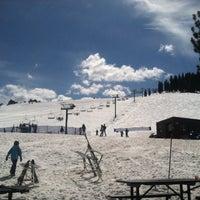 Photo taken at Tahoe Donner Ski Resort by Van W. on 4/3/2016