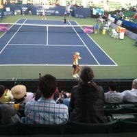 Photo taken at Taube Family Tennis Stadium by Van W. on 8/5/2015