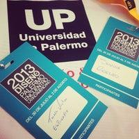 Photo taken at Universidad de Palermo by Thiago V. on 7/29/2013
