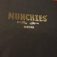 Photo taken at MUNCHIES Restaurant & Bar by joanne t. on 2/17/2013