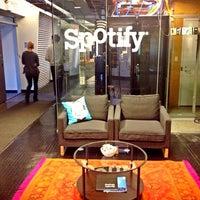 Photo taken at Spotify by Jesse T. on 3/22/2013