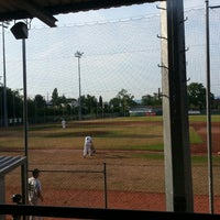 Photo taken at Mainz Athletics Ballpark by Michi on 7/26/2013