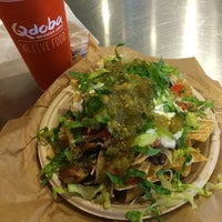 Photo taken at Qdoba Mexican Grill by ⚡Brittney☀ . on 7/10/2014