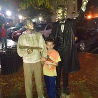 Photo taken at Lincoln Square by Peter R. on 10/4/2014