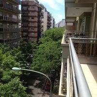 Photo taken at Avenida Corrientes by Rodolfo V. on 11/17/2012