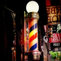 Photo taken at Sigfrido Barber Shop by Chad S. on 8/28/2013