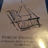 Photo taken at Porch Swing Pub by Charlie W. on 8/2/2013