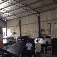 Photo taken at Stafford Motors Service Center by Budumalli on 7/7/2015
