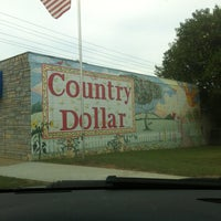 Photo taken at Country Dollar by Sarah F. on 10/27/2012