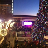 Photo taken at Atlantic Station Central Lawn by MsTiffany_ on 12/22/2012