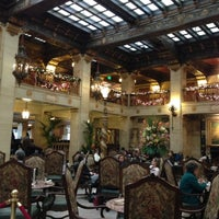 Photo taken at The Davenport Hotel by Stephanie D. on 11/23/2012