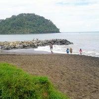 Photo taken at Pantai Padang by Wit M. on 4/14/2013