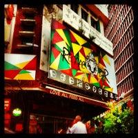 Photo taken at Reggae Bar by Yuva R. on 12/25/2012