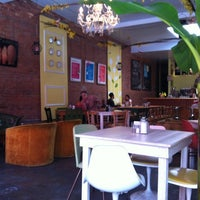 Photo taken at Domku Bar & Cafe by Teresa R. on 9/22/2012