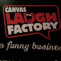 Photo taken at Canvas Laugh Factory by Darshana G. on 10/4/2013