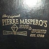 Photo taken at The Original Pierre Maspero's by Alisha O. on 1/19/2013