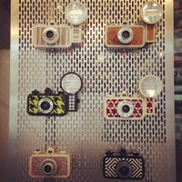 Photo taken at Lomography Gallery Store by Keira L. on 7/28/2013